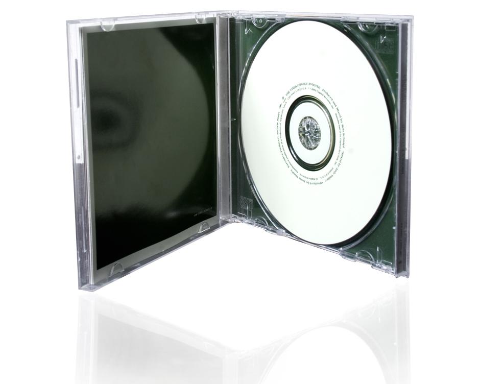 cd kopieren und bedrucken jewel case mit 12 seitigem booklet und inlay cd produktion dvd. Black Bedroom Furniture Sets. Home Design Ideas